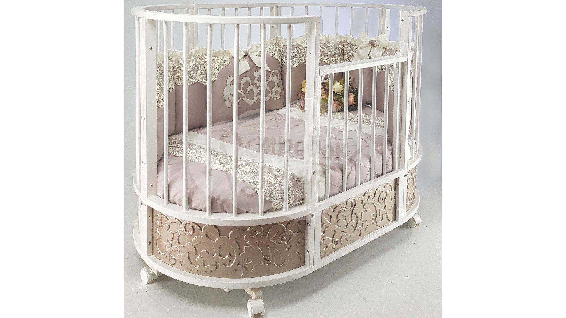 Круглые кроватки